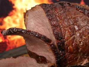 USDA says cook meat to 145degrees Fahrenheit, then let it rest for 3 minutes
