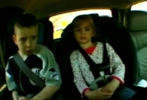 Study shows children may be safer driving with their grandparents than their own parents.