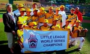 Huntington Beach wins the 2011 Little League World Series of Baseball in Williamsport Pennsylvania on Sunday, making it 6 years out of 7 that a U.S. team has won the title.