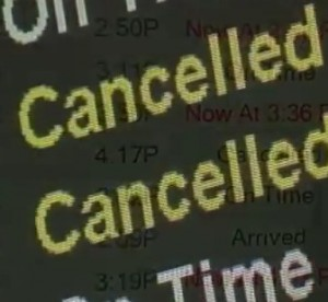 Storm causes Cancelation of flights in Eastern U.S.as well as Canada, knocking out power for millions, and it's not over yet!